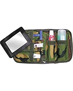 Military Army Folding Compact Wash Kit Travel Camping Hiking DPM Camo