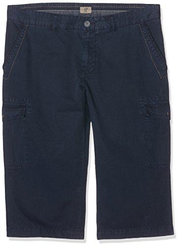 JP 1880 Herren Shorts 3/4 Cargobermuda Uni Blau (Dunkelblau 70)
