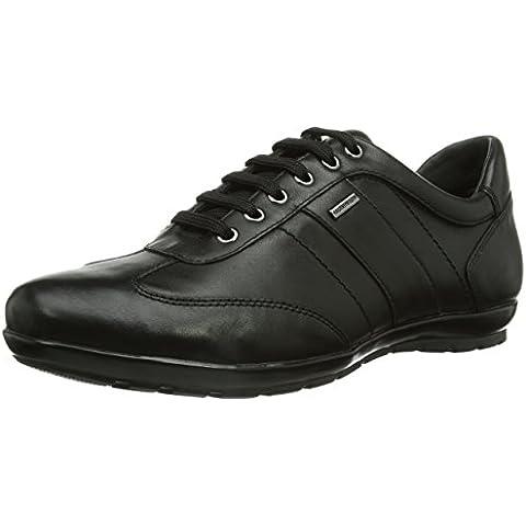 Geox U SYMBOL B ABX - zapatilla deportiva de cuero hombre