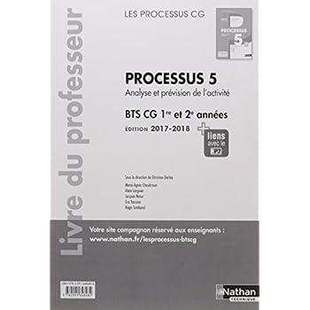 Processus 5 BTS CG 1ere et 2eme années (les processus cg) : Livre professeur