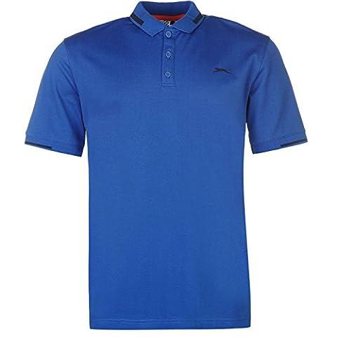 Polo Slazenger - Slazenger Homme Golf Pique Polo Shirt T-Shirt