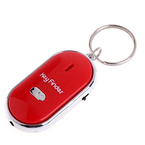 Yoli Schlüsselfinder, für...) mit LED Tür Schlüssel und Trillerpfeife Key Finder Verlust 3x 5.5cm
