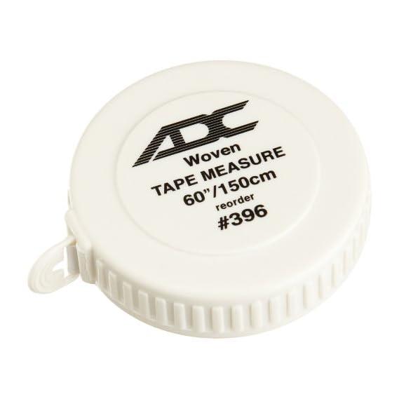 ADC 396 Woven Tape Measure, 60'/150cm