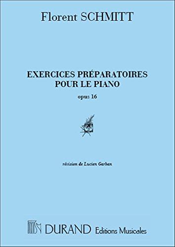 Exercices préparatoires Op.16 (pour les 5 doigts)...