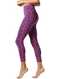 84084cafb9c LAPASA Yoga Pantalones de Deporte para Mujeres Leggings Bolsillo Oculto