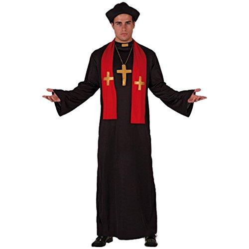 Pater Kirche Kostüm (Priesterkostüm Gr. M/L Kostüm Pfarrer Pfarrerkostüm)