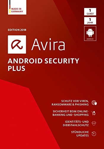 Avira Android Security Plus (2018) - 1 Gerät Standard