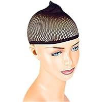 Pleasure Wigs Women's Wig Cap, One Size, Black