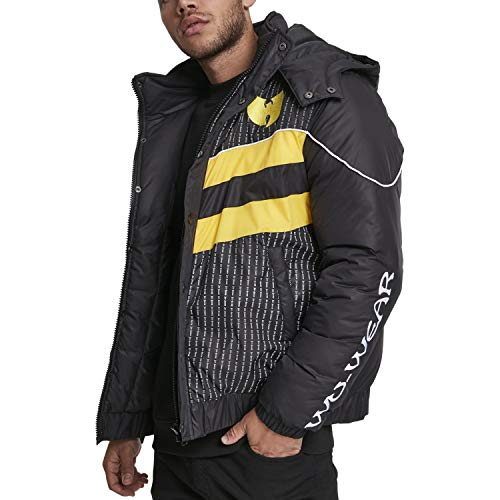 Wu Wear Herren Puffer Jacket Winterjacke, Black, 3XL Preisvergleich