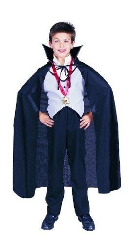 Cape Taft Kostüm - 36-inch Cape Taffeta (Black) Child Accessory by RG Costumes
