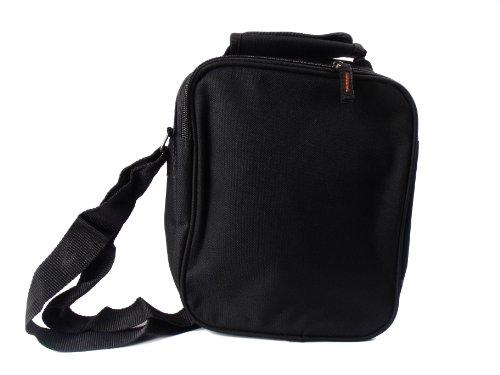 Unisex Messenger Mehrzweck Schulter Reise Utility Bag in drei Farben 2573 Schwarz