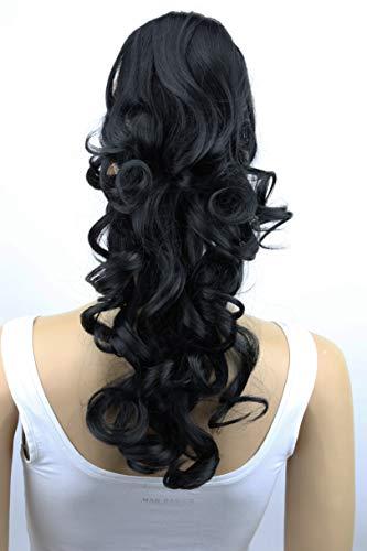 PRETTYSHOP Haarteil Hair Piece Zopf Pferdeschwanz ca 60cm Hitzebeständig wie Echthaar div. Farben HV1