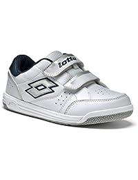Lotto T-Basic VIII CL S, Chaussures de Tennis Unisexe-Bébé