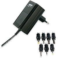 ANSMANN 5111243 APS 1000 Universal Stecker Netzteil zur Stromversorgung vieler Elektrokleingeräte von 3-12 Volt,Schwarz