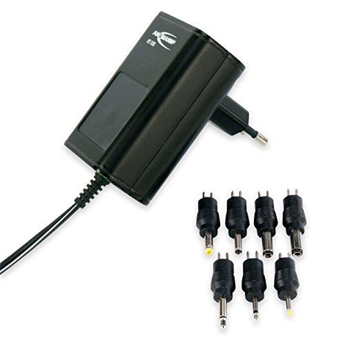 ANSMANN APS 1000 Universal Stecker Netzteil zur Stromversorgung vieler Elektrokleingeräte weltweit einsetzbar für Idena Kinder CD-Player SING-A-LONG, Laptop, Babyphone, Crosstrainer usw.