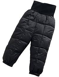 Deylaying Invierno Recién nacido Infantil Bebé Chicas Chico Abajo los pantalones Calentar High Taille Pantalones Para niños Pantalón Por 0-24 meses