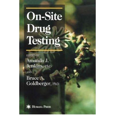 Portada del libro [(Onsite Drug Testing: Forensic Science )] [Author: Amanda J. Jenkins] [Jan-2002]