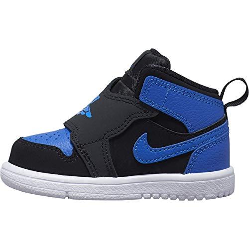 Nike Sky Jordan 1 (TD), Zapatillas para Bebés, (Black/Hyper Royal/White 004),...