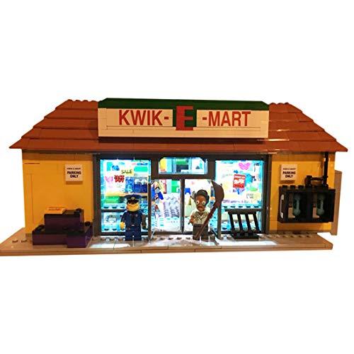 Polai LED Beleuchtungsset für Lego 71016 Simpsons Kwik-E-Mart (Modell Nicht Enthalten)