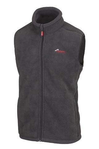 Sub Zero Polar Fleece Thermal Body Warmer - Graphite Grey, Large