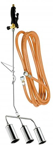 Ribiland - prox583950 - Désherbeur thermique 3 bruleurs 45mm + tuyau 5m BIOPROFLAMME