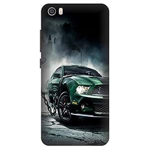 Xiaomi Redmi Mi 5 Sports Car Printed Hard Polycarbonate Designer Back Case Cover by Mobi Elite
