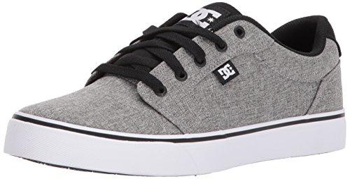 DC Junge Männer Anvil Tx Se Lowtop Schuh, 43, Black/Grey/White (Multi Black Schuhe Kinder)