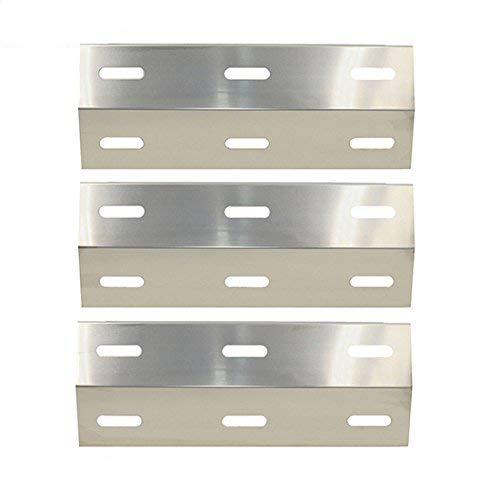 Bar. b.q.s 99341(3er Pack) Edelstahl Hitze Teller Shield Ersatz für Gasgrill Ducane Modelle: 30400040, 30400045, 30400046, 3200, 3400, 4200, S3200, S5200 -