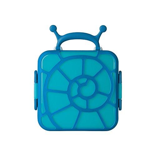 BOON BENTO Brotdose für Kinder | Abnehmbaren Trennbehälter mit Deckel | Wiederverwendbarer Kühlakkus | Behälter für Lebensmittel mit Griff | Lunchbox für Kinder | Umweltfreundlich | Ideal als Geschenk für Kinder ab 3 Jahre