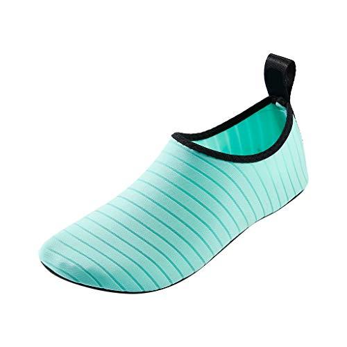 9e1dd161130a17 Mitlfuny Männer Frauen Damen Herren Wasserschuhe Schwimmschuhe Sport-   Outdoor Fitness,Wassersportschuhe Barfuß Schnell trocknend Aqua Yoga Socken  Slip-on ...