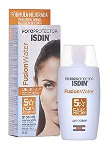 Isdin Fusion Water Lsf 50 Sonnencreme Für Das Gesicht Zur Täglichen Anwendung Ultraleichte Textur 50 Ml Beauty