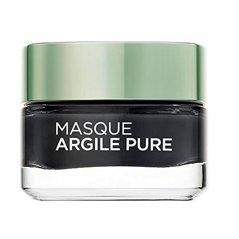 L'Oréal Paris Masque Visage Détoxifiant Eclat à l'Argile/Au Charbon 50