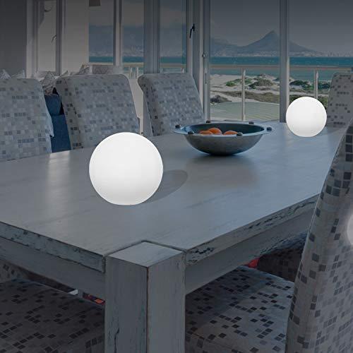 Mervy LED-Kugel, beleuchtet, mehrfarbig + Fernbedienung, für den Innen- und Außenbereich,...