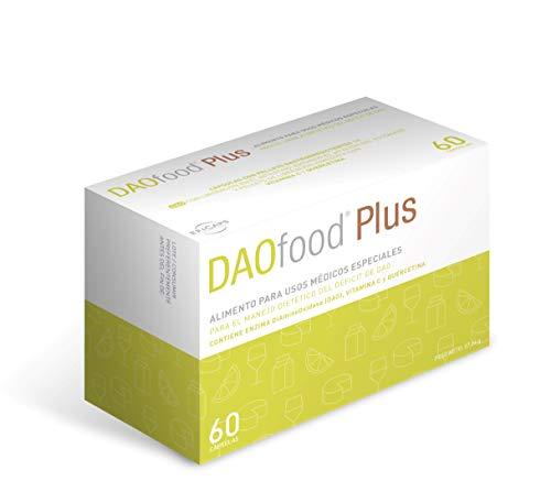 DAOfood - DAO-Mangel behandlung - 60 Kapseln mit magensaftresistentem Pellets