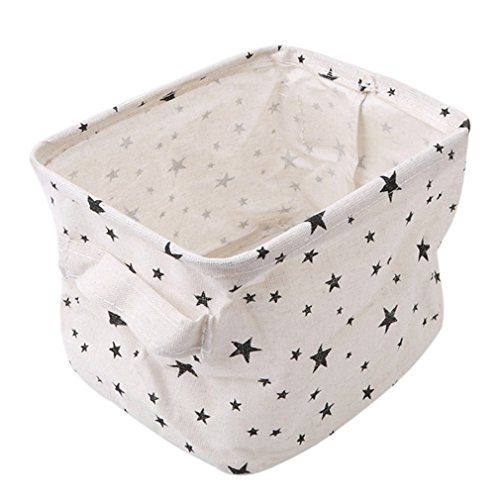 HENGSONG Praktische Aufbewahrungsbox Korb Kosmetik Koffer Make-up Tasche Spielzeug Ablagebox Desktop Organizer für Haus Kinderzimmer Büro Aufbewahrung (Stil 1)