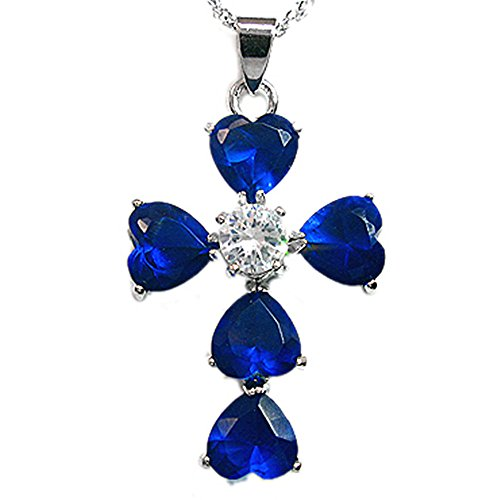 rizilia-jewellery-18k-white-gold-plated-crucifix-cross-heart-shaped-blue-sapphire-color-gem-stone-sl