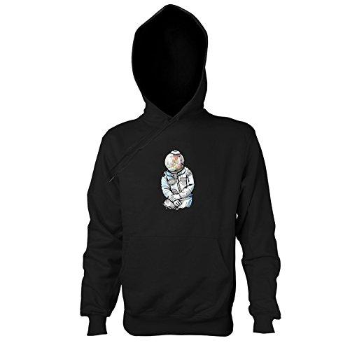 Banksy Ballon Girl Kostüm - Krysom - Candy Moonman - Herren Kapuzenpullover, Größe L, schwarz