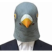 exiu Halloween Costume Party Látex Animal adulto máscara pingüino