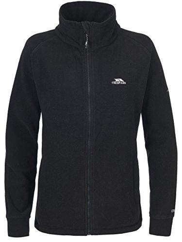 Trespass Clarice, Black, XL, Warme Fleecejacke 280g/m² für Damen, X-Large, Schwarz Preisvergleich