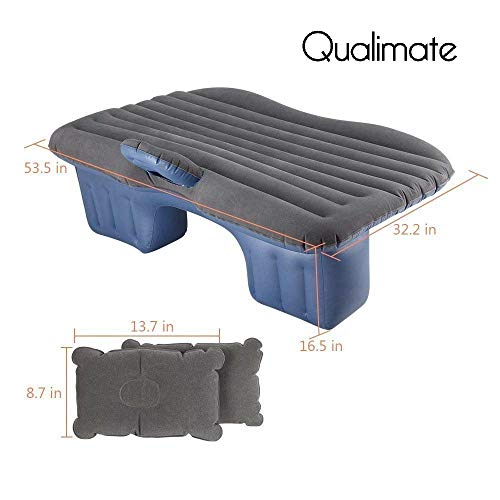 Qualimate CARBED Car Inflatable Mattress Air Bed (Multicolour) Image 3
