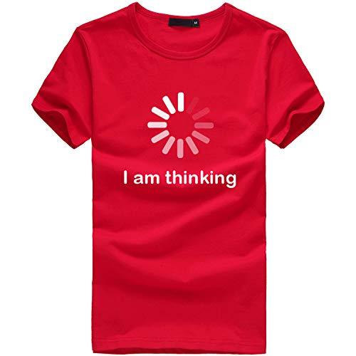 TWIFER Logo Sommer Shirt Damen Kurzarm T Shirt Mädchen Plus Size Gedruckt Tees Shirts Bluse ()