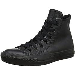 Converse Chuck Taylor All Star Hi, Zapatillas Unisex, Negro (Black Monochrome), 36.5 EU