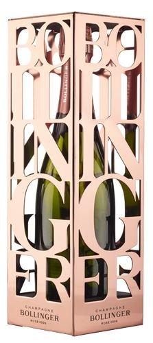 Bollinger Rosé Champagne Vintage 2006 75cl in Rose Gold Gift Cage