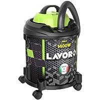 Lavorwash JOCKER 1400 S Drum vacuum 20L 1400W Black, Green vacuum - Vacuums (1400 W, Drum vacuum, 20 L, Black, Green, Telescopic, Dry&wet)