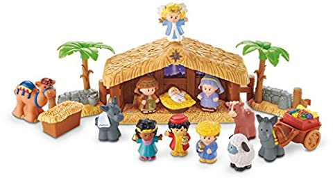 Fisher-Price Little People Christmas Story Nativity with Lights and Sounds