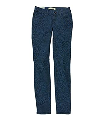 Bullhead Denim Co. Womens Low Rise Animal Skinny Fit Jeans