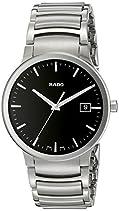 Rado Herren-Armbanduhr XL Analog Quarz Edelstahl 115.0927.3.015