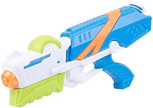 Speeron Spritzpistole: XL-Kinder-Wasserpistole mit extra-großem Wassertank, 850 ml (Wasserpistole statt Wasserbombe) (Große Extra Wasser)
