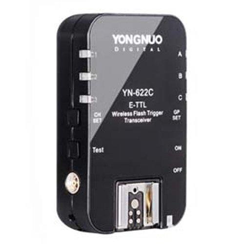 Yongnuo YN-622C Déclencheur de flash E-TTL sans fil pour Canon 10D/50D/60D/350D/450D/650D/1000D
