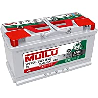 Mutlu 019 AGM Car Battery 12V 95Ah 950A (SAE) 900A (EN) - Compare prices and find best deal online